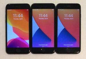 THREE TESTED GSM UNLOCKED APPLE iPhone 7, 32GB A1660 MNAC2LL/A PHONES R130P