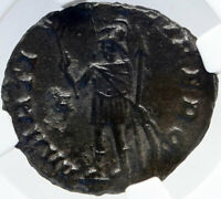 GALLIENUS Authentic Ancient 256AD Rome Genuine Roman Coin MARS NGC i82909