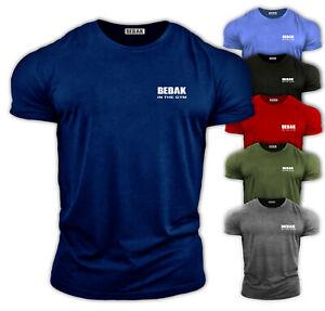 Gym T shirts Men  Gym Top Bodybuilding T Shirt Mens Gym Clothes BEBAK Muscle Fit