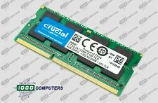 Crucial 4GB 2Rx8 PC3L-10600S DDR3 1333MHz Laptop Memory RAM CT4G3S1339M.C16F1KD