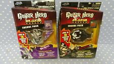 Guitar Hero Air Guitar Encore Packs (Lot of 2) 80's Rock & Heavy Metal NEW!