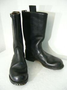 Stiefel, Knobelbecher, mit Metallbeschlag, Größe 43