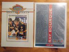 1X RAY BOURQUE 1993 94 Stadium Club #3 MASTER PHOTO Oversize 5X7 Lots Available