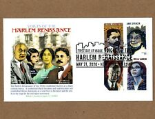 2020 VOICES OF THE HARLEM RENISSANCE - GRAEBNER CACHET 4 STAMPS ON COVER