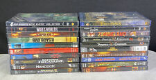 Lot 21 DVD Assorted Movies Action Adventure NO SCRATCHES