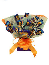 FATHERS DAY TERRY'S CHOCOLATE ORANGE GIFT SWEET TREE BOUQUET HAND MADE
