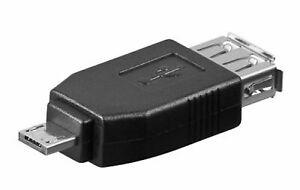 ADATTATORE USB A FEMMINA/MICRO USB A  MASCHIO