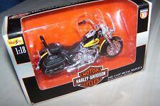 Maisto Harley Davidson 2000 FLSTC Heritage Softail Classic Motorcycle 1:18
