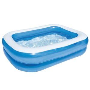 Bestway Family Pool Planschbecken für Kinder aufblasbar 211x132x46 cm