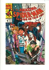 Amazing Spider-Man Skating on Thin Ice #1 FN 1990 Canadian Edition - McFarlane