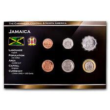 2001 Jamaica 10 Cent-$20 6-Coin Set BU - SKU #44929