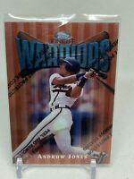 1997 Finest Atlanta Braves Baseball Card #100 Andruw Jones B