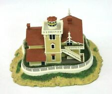"Danbury Mint ""East Brother Light Station"" Richmond, CA Lighthouse Collectible"