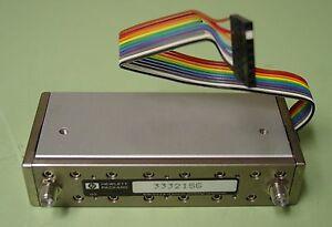 HP/Agilent 33321SG Prog Step Attenuator DC-4GHZ 0-35DB