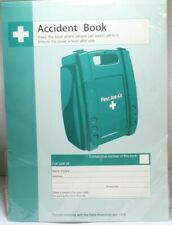First Aid Accident Book - A4 Q3200 SAFETY FIRST AID Box034