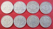 France 1 Francs 1942, 1943, 1948, 1957(B)