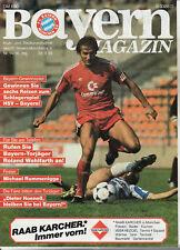 BL 84/85  FC Bayern München - Fortuna Düsseldorf