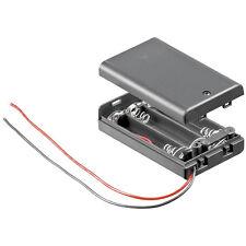 W309 - 2 pezzi PORTABATTERIE 3 x Micro AAA batterie batteria chiuso