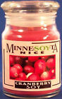 Cranberry Soy Candle, 5oz Apothecary Jar
