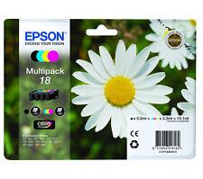4 Epson XP-202 Genuine Multipack printer ink Cartridges- T1806