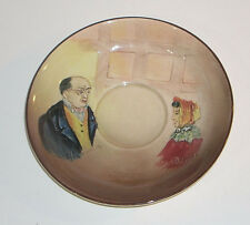 Vintage Royal Doulton Mr Pickwick & Mrs Cluppins Saucer