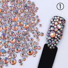 Nail Rhinestones 3D Nail Art Decoration Glitte Crystal Manicure Mix-color DIY