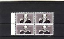 GERMANY/WEST - SG2245 MNH 1988 DEATH CENTENARY THEODOR STORM - BLOCK OF 4