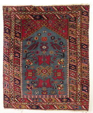 An  Antique Turkish Anatolian Bergama Prayer Rug. Carpet