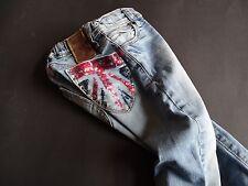 VINGINO Tolle helle slimfit Jeans mit Pailletten Unionjack Gr.4 104