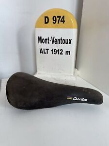 Vintage Selle Italia Turbo Suede Saddle