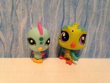 lot LPS Littlest pet shop miniature mini figures bird parrot chic Hasbro animal