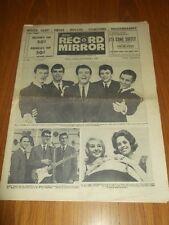 RECORD MIRROR #130 SEPTEMBER 7 1963 BILLY J KRAMER BUDDY HOLLY CARAVELLES