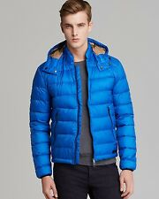 New Men's Burberry Brit Mitchson Down Jacket With Removable Hood Size M $595