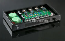 3-way Frequency Divider Stereo Preamplifier Audio Preamp Treble Bass Crossover