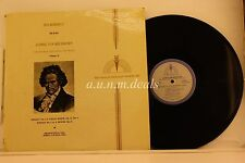 "Ludwig Van Beethoven The Sonatas For Violin And Piano - Or serie  LP 12"" (VG)"