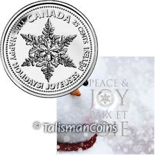 Canada 2011 Holiday Christmas 7 Coin Mint Gift Set with Snowflake Quarter
