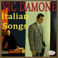 VIC DAMONE CD Vintage Vocal Jazz / Italian Songs , Arrivederci Roma , Mattinata