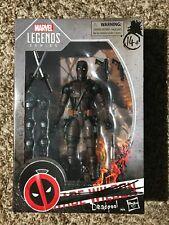 "Hasbro Marvel Legends Deadpool 6"" Figure Amazon Exclusive Burnt Deadpool"