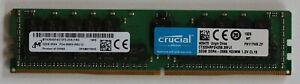 CRUCIAL 32GB 1Rx4 PC4-2666V-RB2-12, SERVER RAM MEMORY, MTA36ASF4G72PZ-2G6J1RG