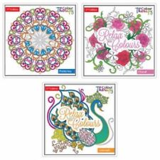 Adult Colouring Book - 60 Designs To Colour Therapy 2nd Edition 6846 Patterns
