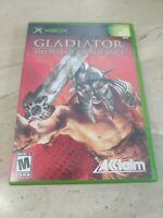 Gladiator Sword of Vengeance XBOX