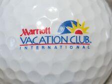 (1) Marriott Vacation Club Logo Golf Ball International