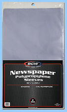 Book Bags 20 packs BCW 2-mil Poly CASE-LOT PAPERBACK Size:2000ct
