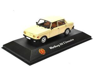 1:43 Atlas DDR Collection Wartburg 353 S Limousine beige