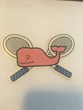 New Authentic Vineyard Vines Tennis Whale Sticker Decal
