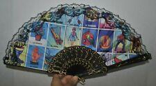 Loteria Bingo Chalupa Plastic Hand Fan Abanico de Mano Bolsillo Dance Baile New