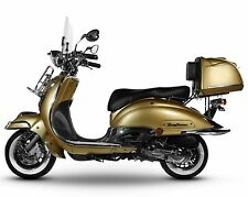 Retro Roller Mofa 25 45 KmH Motorroller 49 50 ccm Moped gold EASYCRUISER SALE