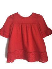 Gap Kids Baby girls Red Dress 6–12 months