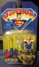 1998 Superman Animated Supergirl Action Figure