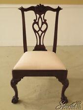 L37837: HENKEL HARRIS #112 Clawfoot Mahogany Dining Room Side Chair ~ New